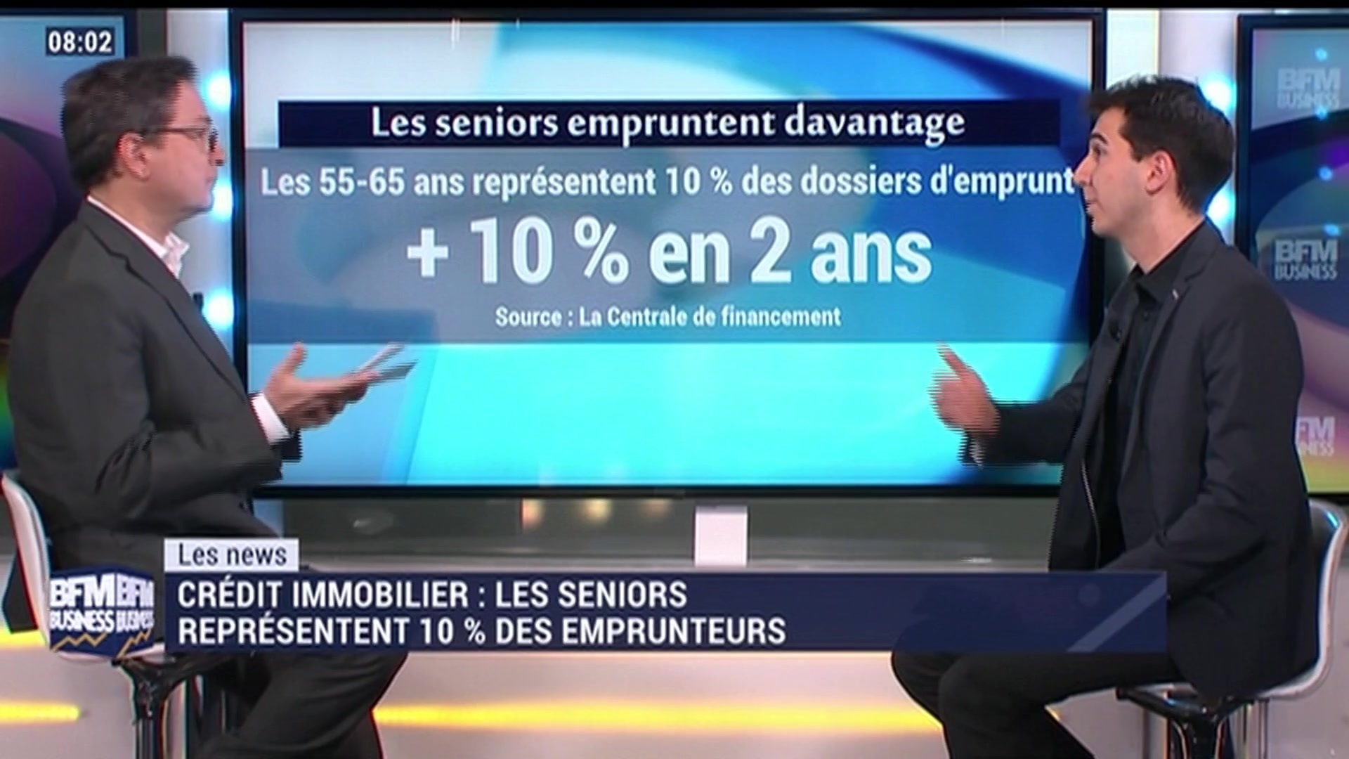 credit immobilier bfm