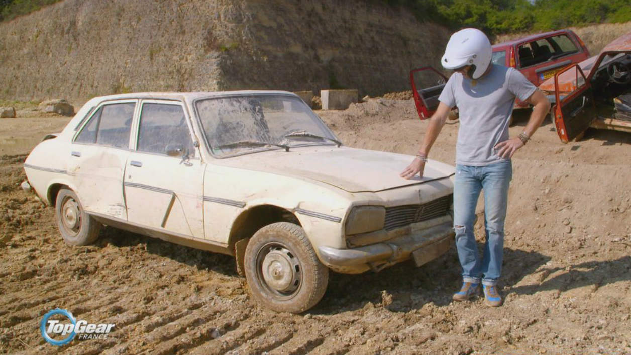 top gear france saison 3 la peugeot 504 indestructible. Black Bedroom Furniture Sets. Home Design Ideas