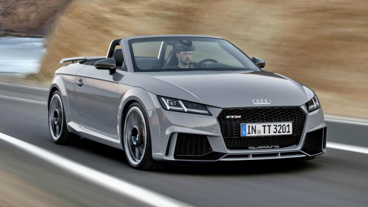 p kin 2016 la nouvelle audi tt rs un 0 100 km h en 3 7 secondes. Black Bedroom Furniture Sets. Home Design Ideas