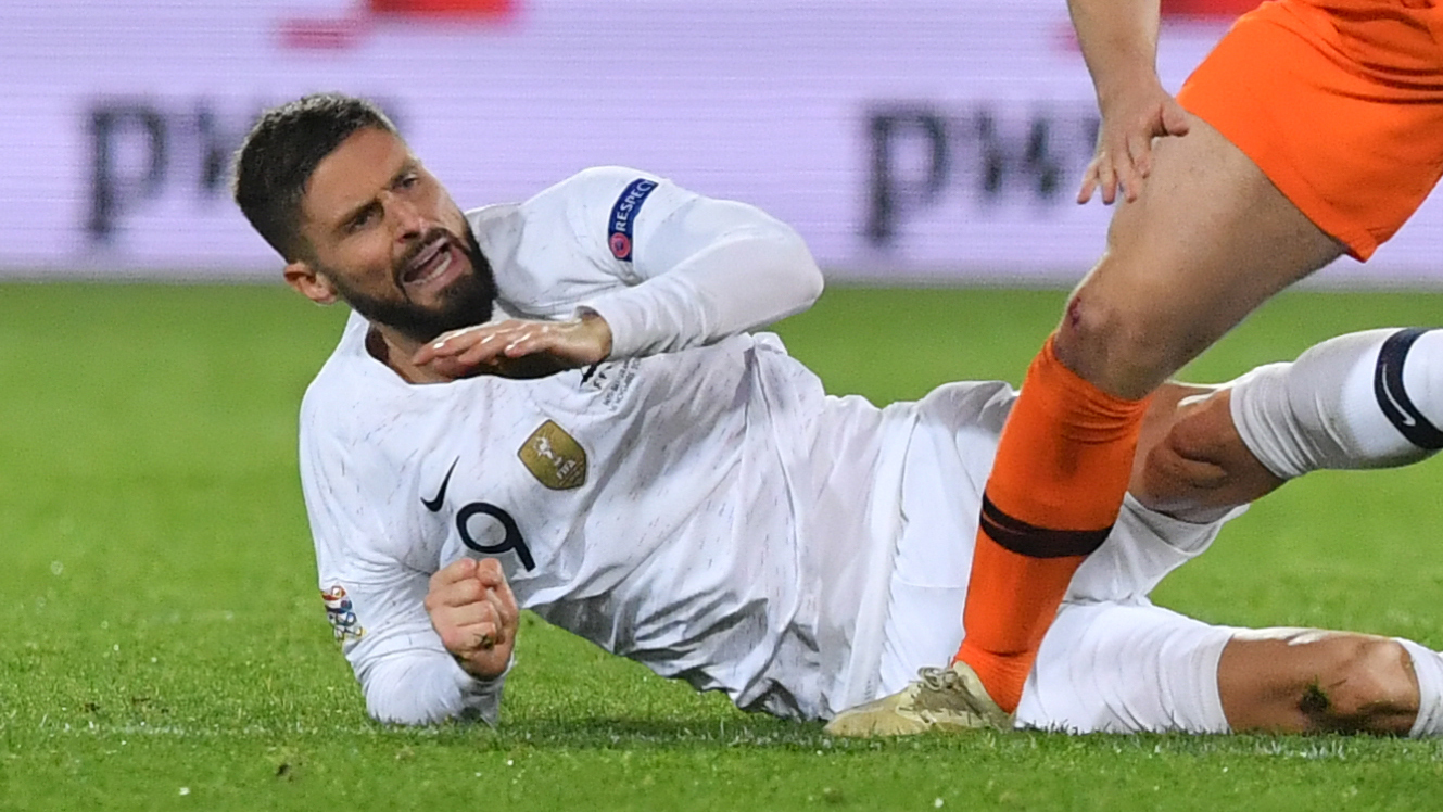 """Pays-Bas - France: """"On n'a aucune excuse"""", s'emporte Olivier Giroud"""