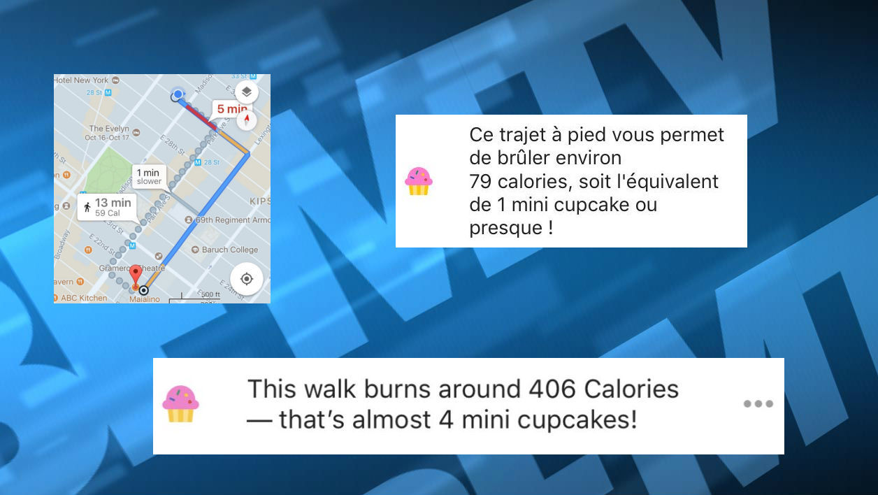 Google Maps retire un compteur de calories controversé de son application