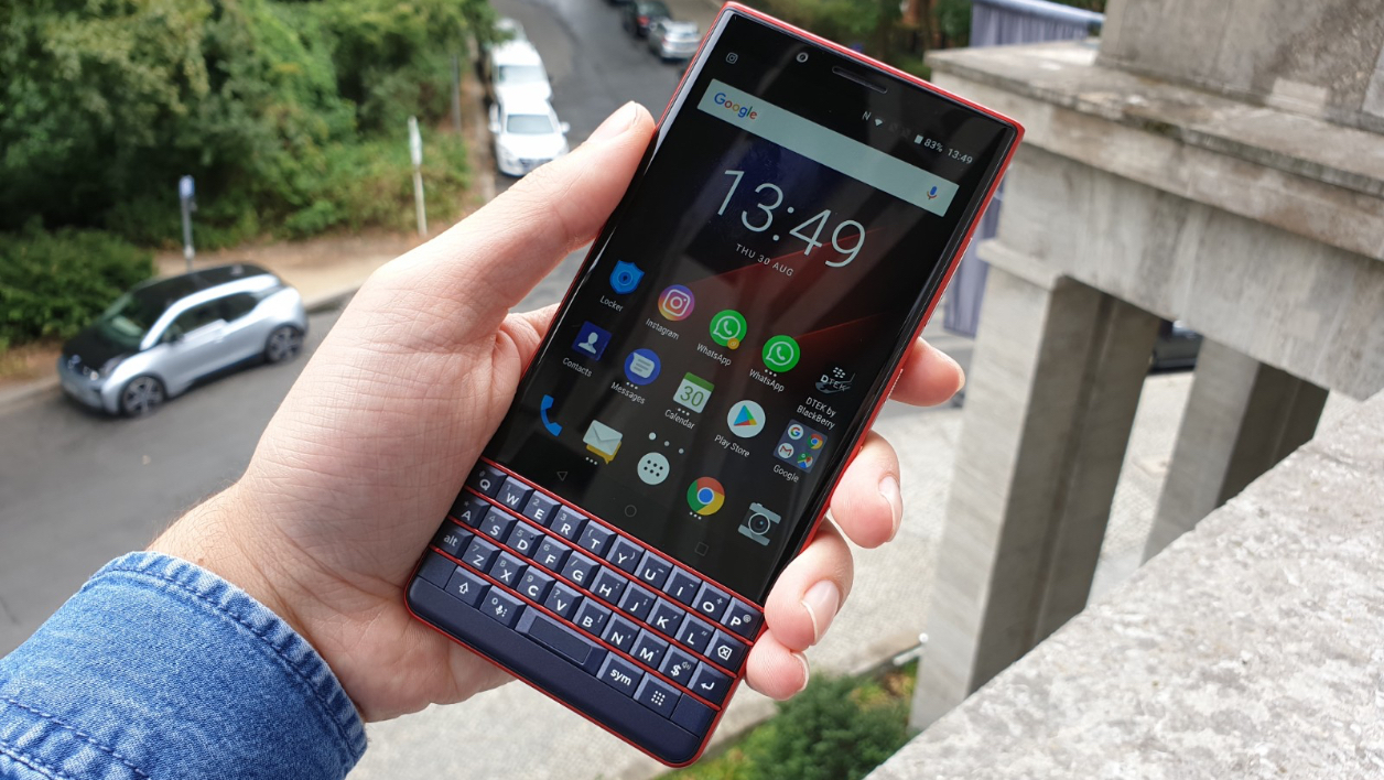 With the KEY2 LE, BlackBerry brings its smartphone keyboard