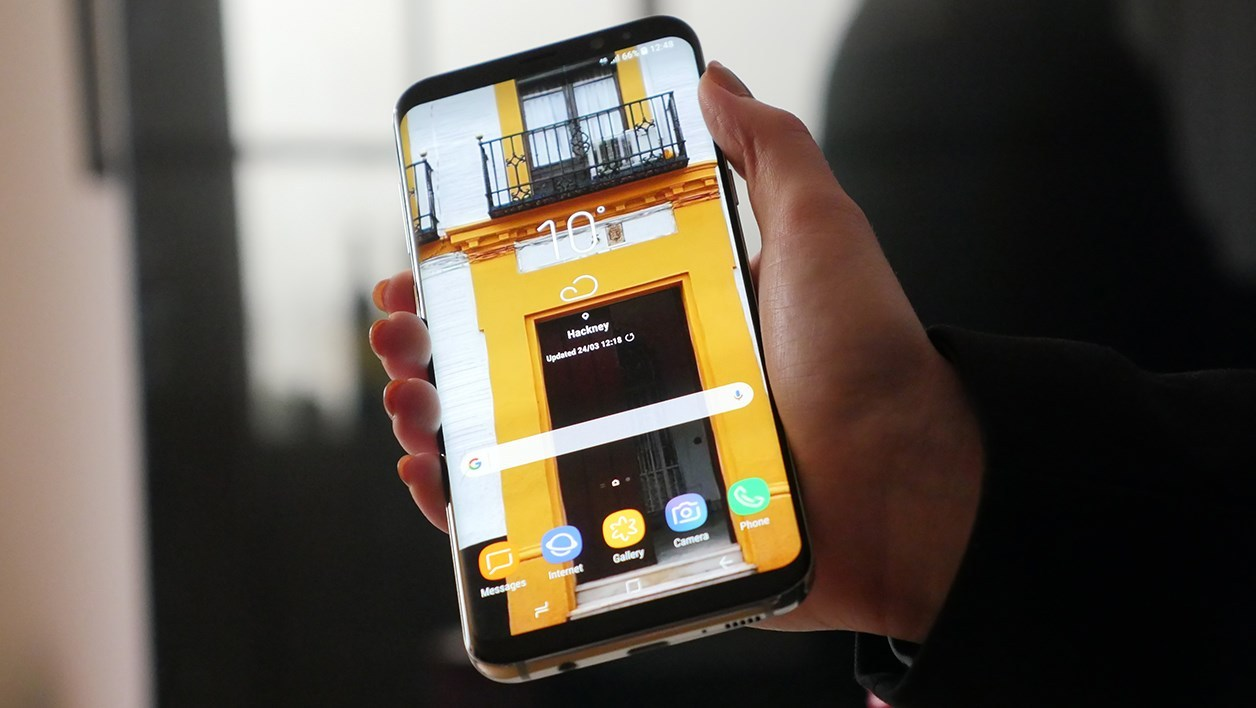 fiche technique samsung galaxy s8 plus avec. Black Bedroom Furniture Sets. Home Design Ideas