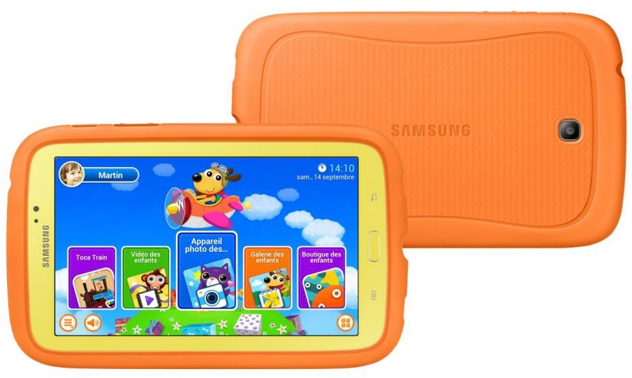 samsung sa tablette android pour enfants arrive 229 euros. Black Bedroom Furniture Sets. Home Design Ideas