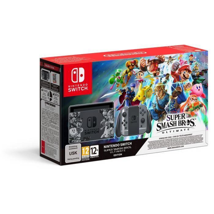 Pack Nintendo Switch Super Smash Bros Ultimate Edition
