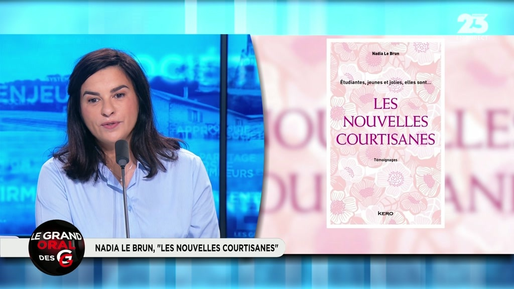 Le grand oral de nadia le brun journaliste et auteur de for Le miroir des courtisanes