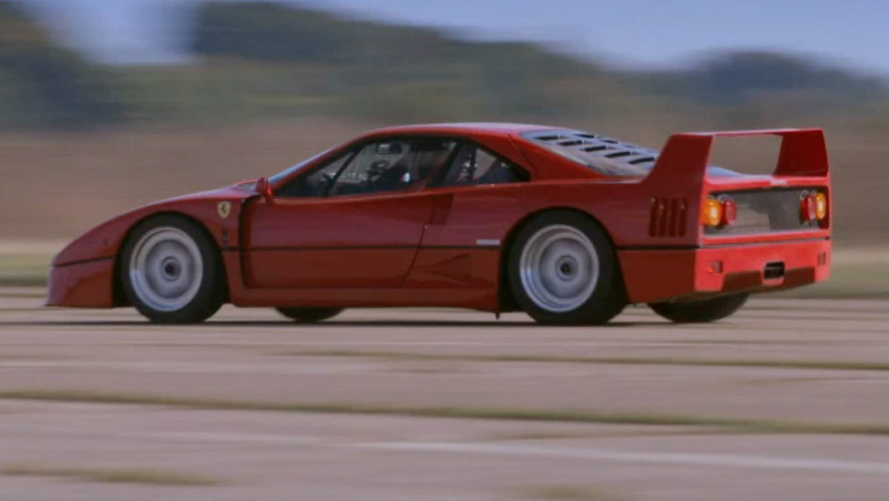 top gear france saison 3 pourquoi la ferrari f40 reste la meilleure voiture du monde. Black Bedroom Furniture Sets. Home Design Ideas