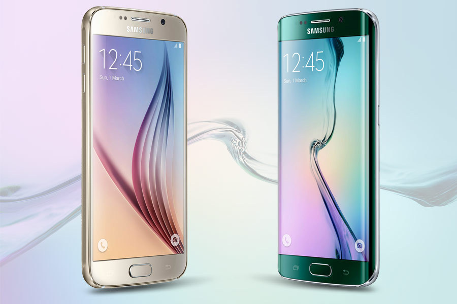 mwc 2015 les samsung galaxy s6 et s6 edge en 6 diff rences. Black Bedroom Furniture Sets. Home Design Ideas
