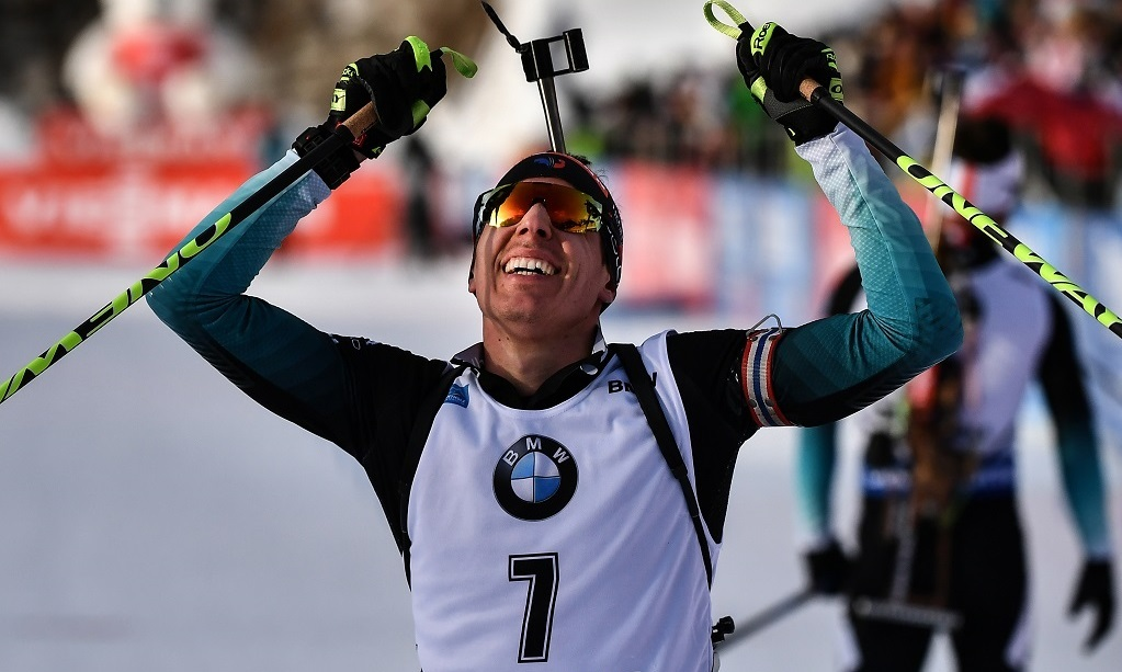 Biathlon (Salt Lake): Fillon Maillet s'impose sur la poursuite, Desthieux encore sur le podium