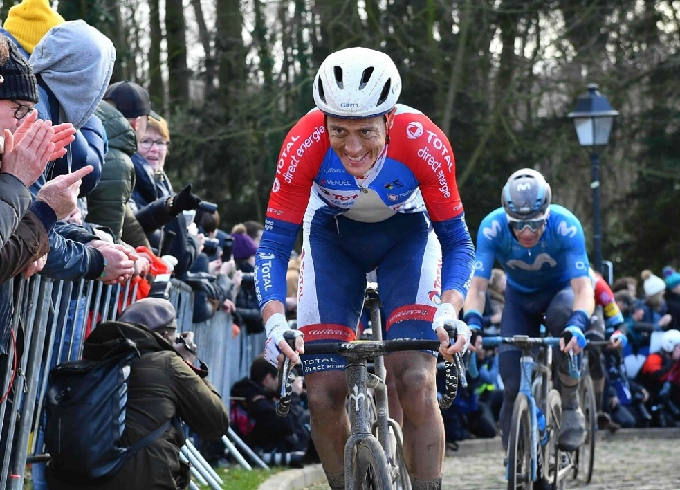 Total Direct Energie: Terpstra forfait pour 3 mois