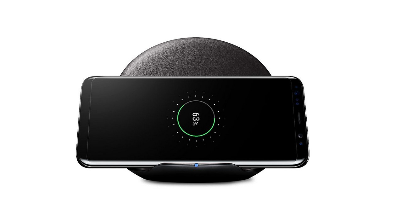 chargeur galaxy s8 induction test