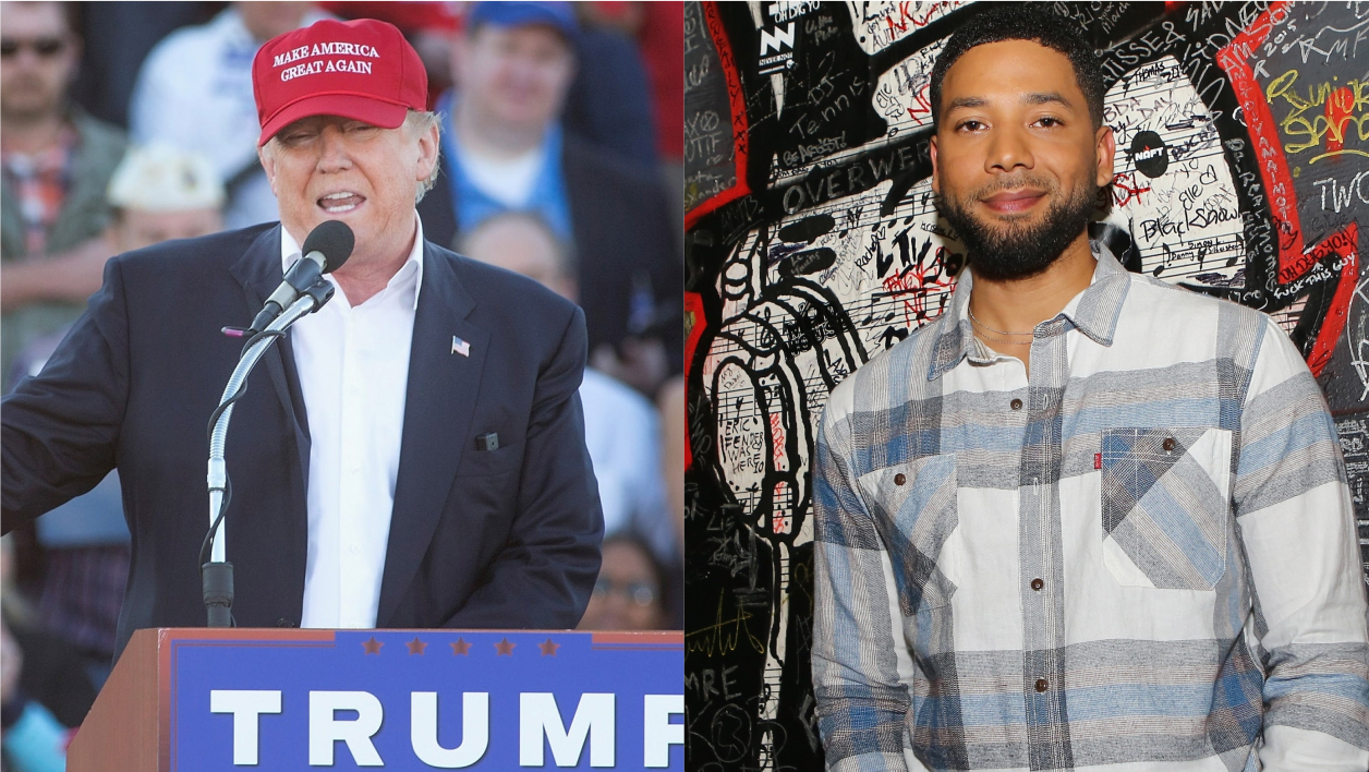 Fausse agression mise en scène: Donald Trump accuse Jussie Smollett de racisme
