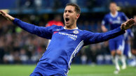 Chelsea bat Arsenal, Hazard marque