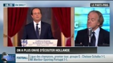 Le parti pris d'Hervé Gattegno : On n'a plus envie d'écouter François Hollande - 18/09