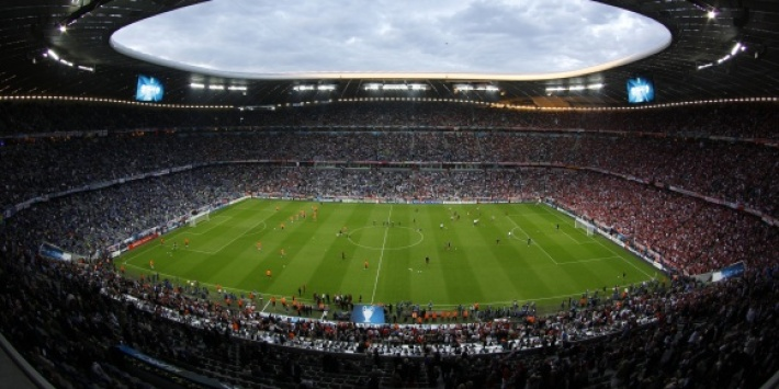 L'Allianz Arena, où évolue conjointement le Bayern Munich et Munich 1860.