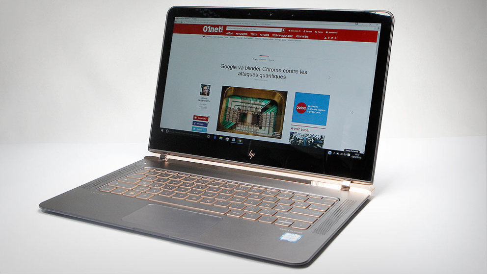 HP Spectre : le portable le plus fin du monde en images