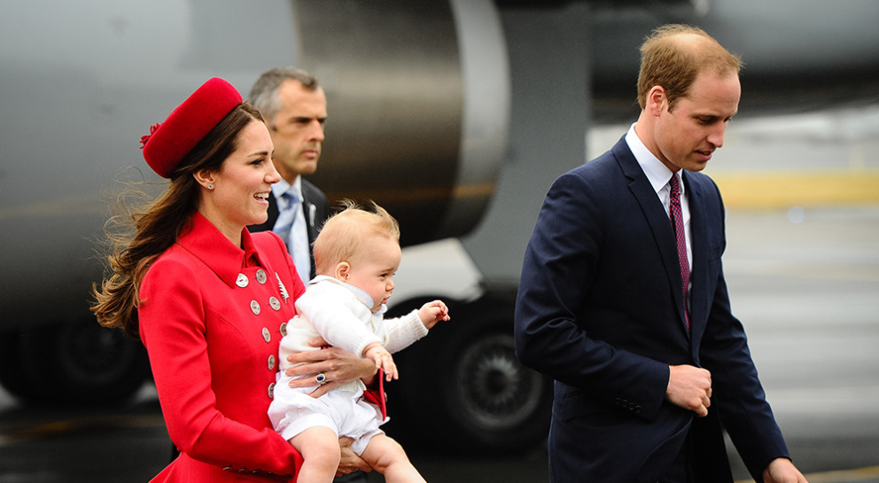 prince George: retour sur les moments forts du premier royal baby