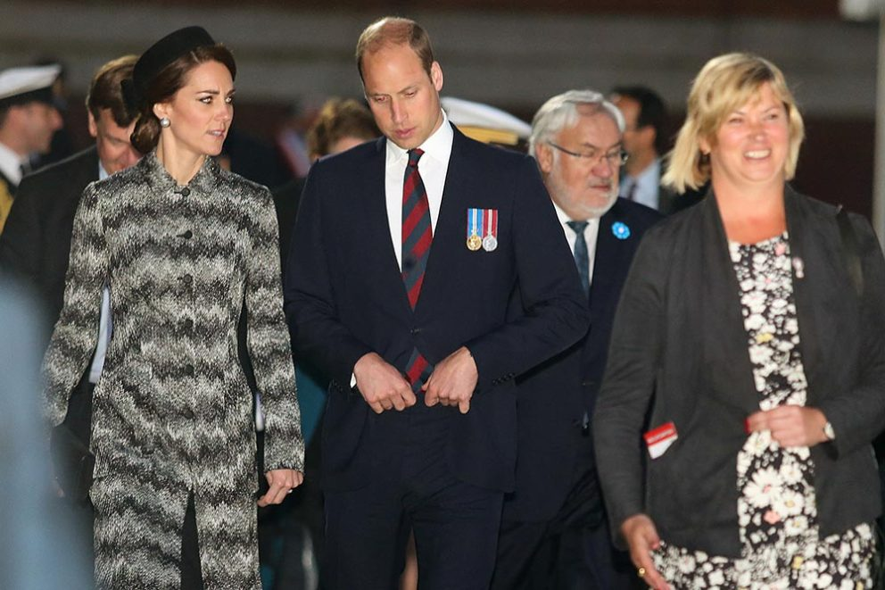 Kate et William commémorent En France la bataille de Somme