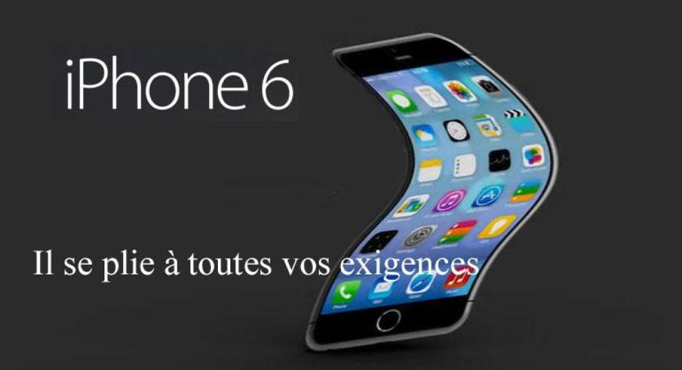 L'iPhone 6 plie, Internet en rit