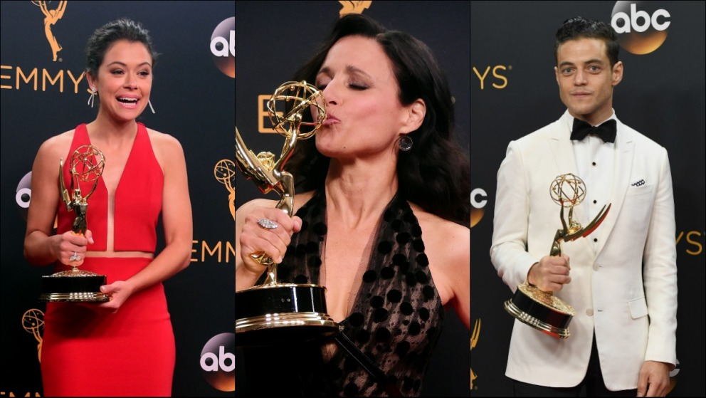 Emmy Awards: les stars de séries TV sur tapis rouge