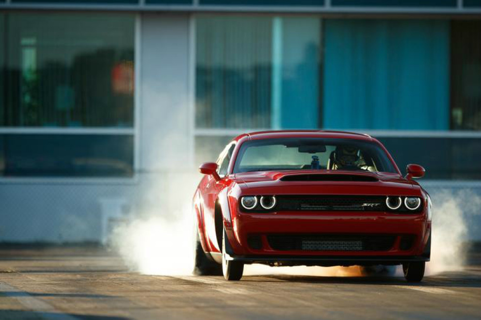 Dodge Challenger SRT Demon: diablement efficace